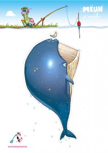 une baleine pour impression A3