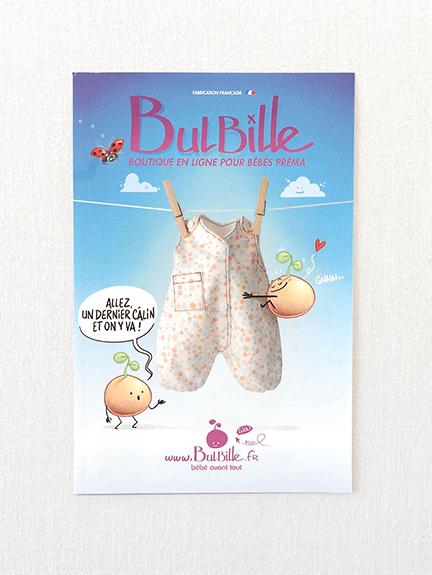 Création d'un flyer pour vente de vêtements bébé