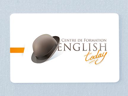 Création du logo de english today centre de formation limoges