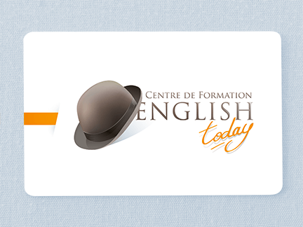 Création du logo de english today centre de formation limoges