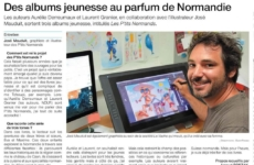 Les P'tits Normands dans le Ouest-France