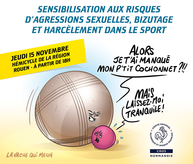 illustration pour un colloque organisé par le CROS Normandie
